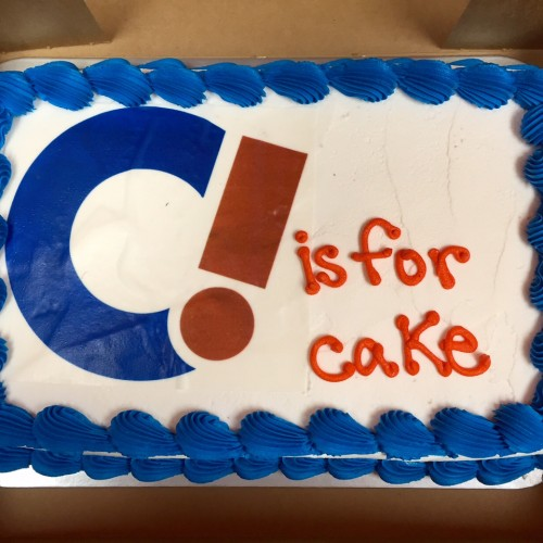 C Is For Cake