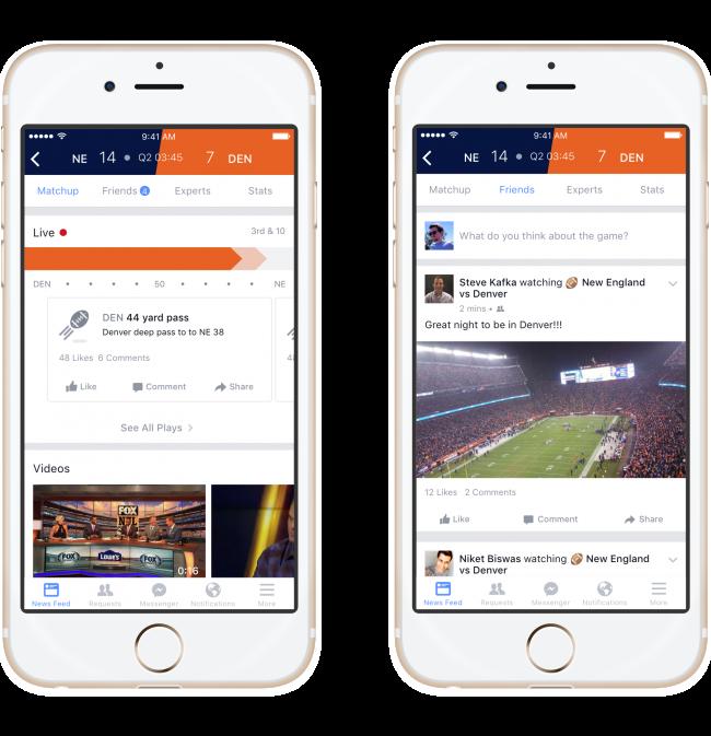 In It To Win It: Facebook Gets Sporty