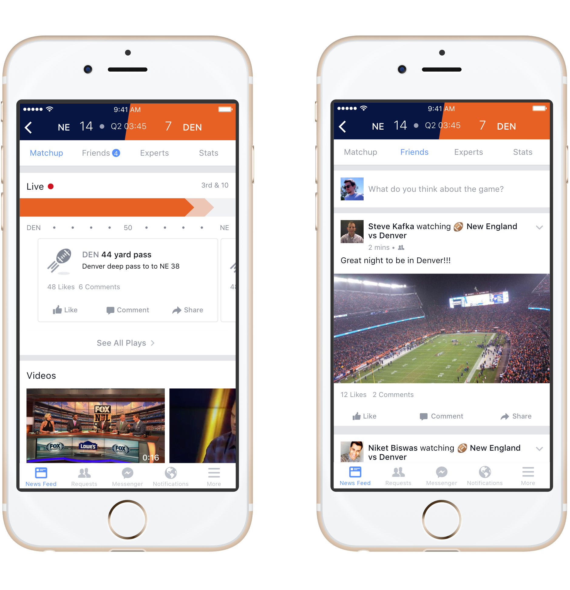In It To Win It: Facebook Gets Sporty