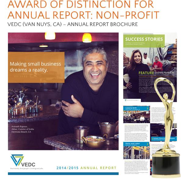 VEDC non-profit award