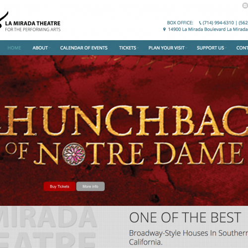 La Mirada Theatre website