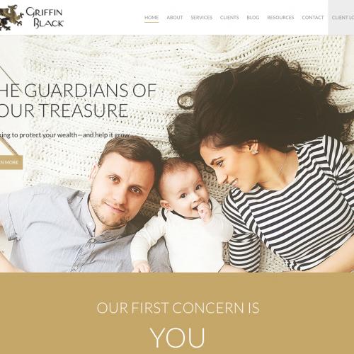 Griffin Black Website
