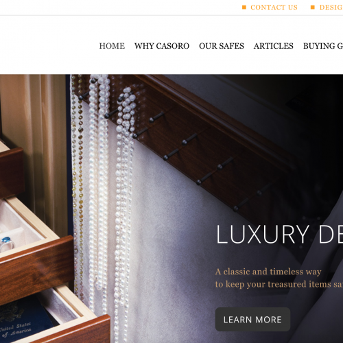 It's Safe to Say: Casoro's New Site is Stunning