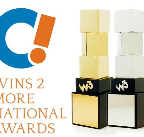 Counterintuity Wins Two W3 Awards (A.K.A. W3 x 2)