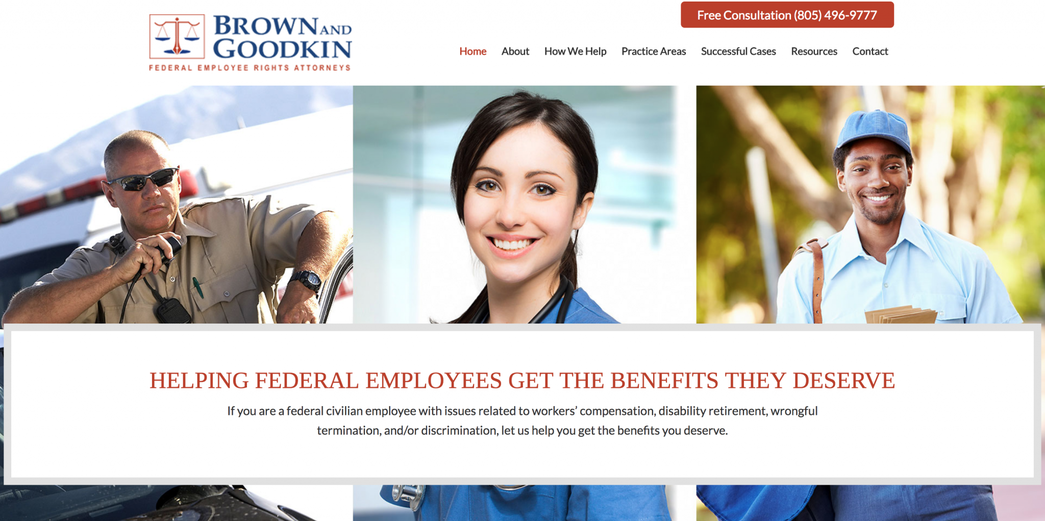 Client Shout-Out: Brown & Goodkin Website