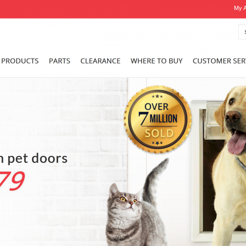Ideal-Pet-Homepage