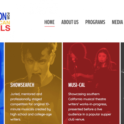 Foundation for New American Musicals Gets a Site Upgrade!
