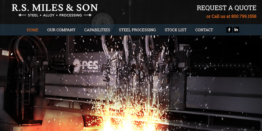 R.S. Miles Steel's New Site is a Spotlight-Stealer