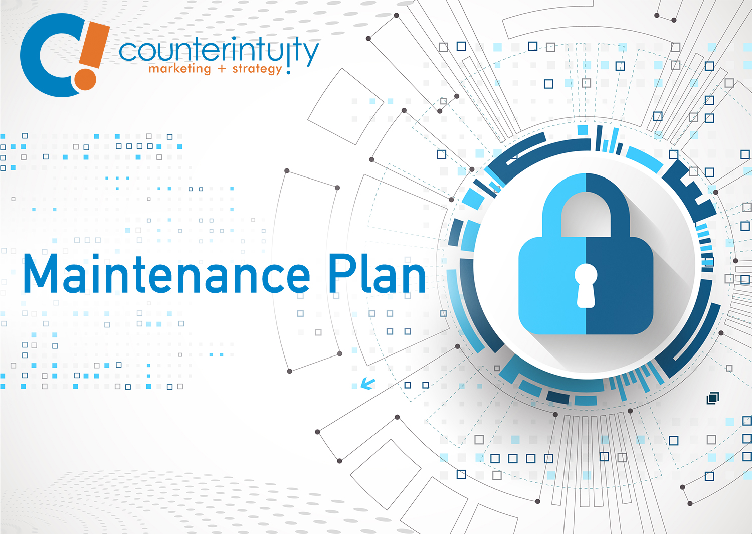 Counterintuity's Maintenance Plan